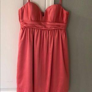 BCBG coral dress. NWOT!